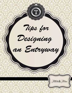 Outstanding home decor tips are available on our web pages. look at this and you wont be sorry you did. Decorating Tips, Interior Decorating, Interior Design, Entry Hallway, Foyer, Alice Lane Home, Purse Storage, Entry Tables, Nest Design