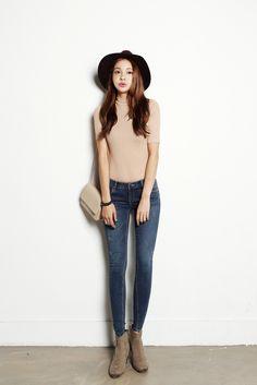 Wash skinny jeans
