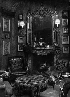 what a fabulous Victorian sitting room...love...