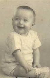 """Richard Starkey Baby Pic - """"My real name is Parkin, not Starkey. My grandad was named Johnny Parkin. When my grandfather's mother remarried, which was pretty shocking in those days, she married a Starkey, so my grandfather changed his name to Starkey, too. (I went to have my family tree done in the Sixties, but I could only trace back two generations - and they couldn't find me! I had to go to my family to find out, and even they hadn't wanted to say anything in case the press found out.) """""""