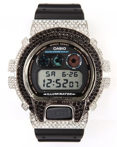 mens g shock by casio dw 6900 swarovski crystals watch urbancart mens g shock by casio aviation swarovski crystals watch urbancart co exclusive