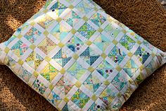 Hour Glass Pillow   Flickr - Photo Sharing!