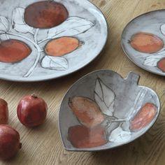 Beautiful pottery by the founder Anu Pentik. Ceramic Tableware, Ceramic Bowls, Pottery Vase, Ceramic Pottery, Fire Clay, Fall Decor, Autumn Decorations, Autumn Art, Pumpkin Spice Latte