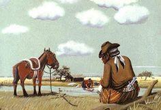 R- Florencio Molina campos- Pintor argentino