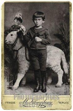 Franz Kafka aged five