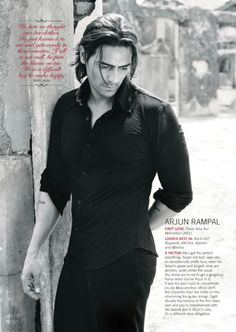 Arjun Rampal (b. 26 Nov is an Indian film actor, producer, and former… Bollywood Stars, Hot Actors, Actors & Actresses, John Abraham Body, Gorgeous Men, Beautiful People, Indian Male Model, Indian Face, Star Wars