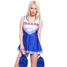 Love Sport? That u can t miss these. Let s cheer up Cheerleader Costume 95e1f375ab8