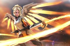 View, download, comment, and rate this 3200x2134 Overwatch Wallpaper - Wallpaper Abyss