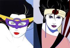 Image detail for -Patrick Nagel 80s Fashion Illustrations | Trend.Land -> Fashion Blog ...