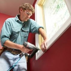 How to Install Craftsman Window Trim and Craftsman Door Casing How to Install Craftsman Window Trim and Craftsman Door Casing - limoncello cocktails Mdf Trim, Baseboard Trim, Window Casing, Door Casing, How To Install Baseboards, Work Basics, Craftsman Window Trim, Interior Door Trim, Trim Carpentry