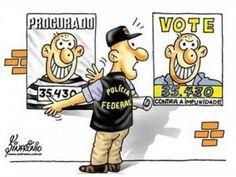 É assim na política do Brasil