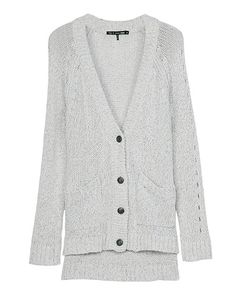 rag & bone Official Store, Candace Cardigan, ivory fl, Womens : Ready to Wear : Sweaters : Cotton, W2346018D
