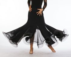 DSI London | Ladies' Wear | Ladies' Wear DSI Collection Dancewear | Marissa ballroom skirt $200
