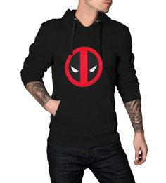 Stylish Deadpool Hoodie on #ChristmasSale with #GuaranteedChristmasDelivery ORDER BEFORE DEC 12TH 2015
