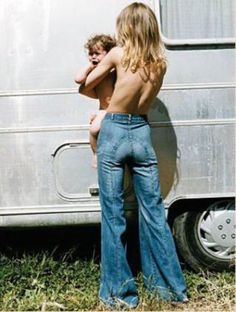 Ditto's saddel back jeans... 1970's.  I had these in a couple different colors...lol