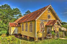 Nadia Sanowar - Old Church, located in Mayaro, Trinidad, The Caribbean