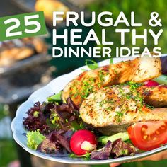 Eating healthy doesn't have to cost you an arm and a leg, and to prove it we've assembled our collection of frugal and healthy dinners that you can cook for two or for the whole family. For each recipe we've tried to calculate an Approximate Cost per Serving so you can get a quick idea …