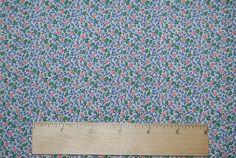 AUNT GRACE 1930s Miniature floral fabric by by vintageinspiration, $18.00
