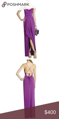 BCBG purple gown Perfect condition worn once BCBGMaxAzria Dresses Prom