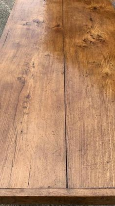 French Farmhouse, Farmhouse Table, Hardwood Floors, Flooring, Pine Furniture, Tables, Wood Floor Tiles, Mesas, Wood Flooring