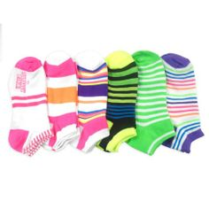 Women Fashion No Show Socks 6-Pack, Neon Stripes Fun Socks (AHB-3110) Teeheesocks,http://www.amazon.com/dp/B00H8W4PY0/ref=cm_sw_r_pi_dp_NGDQsb1R05EH0S99