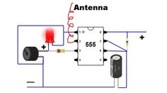 Building Your Own Non-contact AC Voltage Detector Mount the components on the PCB and solder them one by one in the appropriate places as per the circuit diagram Electronics Mini Projects, Electronic Circuit Projects, Electrical Projects, Electronics Components, Electronic Engineering, Diy Electronics, Chemical Engineering, How To Make Ac, Simple Circuit