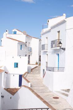 White town. #frigiliana #spain #andalusia