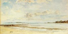 James McNeil Whistler, Note in Blue and Opal, watercolor -Heavenly Watercolors  http://paintwatercolorcreate.blogspot.com/2013/05/heavenly-watercolors.html