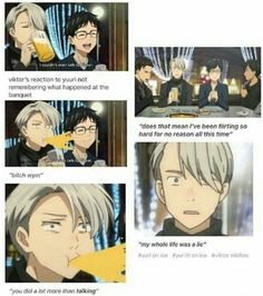 Victuri - #YuriOnIce: ifunny  No Yuri was telling the truth because a drunk man's words are a sober man's thoughts.