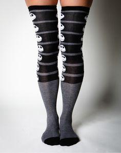 Nightmare Before Christmas Over the Knee Socks Cute