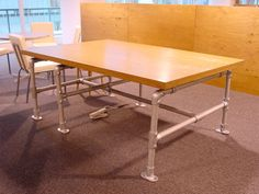 2. Pipe Frame Tables