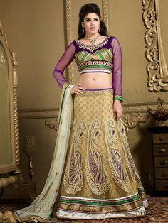 Indian  Lehenga Choli Design 2014-15 (7)