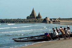 Mahabalipuram Beach, Tamil Nadu, India