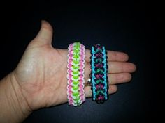 """Norwood"" Rainbow Loom Bracelet/How To Tutorial Rainbow Loom Tutorials, Rainbow Loom Patterns, Rainbow Loom Bands, Rainbow Loom Bracelets, Loom Band Bracelets, Rubber Band Bracelet, Bracelet Crafts, Rubber Band Crafts, Rubber Bands"