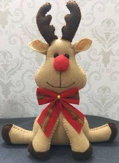 christmas crafts by carmella Christmas Decorations Sewing, Felt Christmas Ornaments, Christmas Sewing, Christmas Projects, Christmas Time, Rustic Christmas, Felt Diy, Felt Crafts, Theme Noel