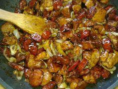 Τηγανιες με λουκάνικο που θα απογειώσουν το γιορτινό τραπέζι Cookbook Recipes, Pork Recipes, Cooking Recipes, Healthy Recipes, Recipies, Food Network Recipes, Food Processor Recipes, The Kitchen Food Network, Greek Cooking