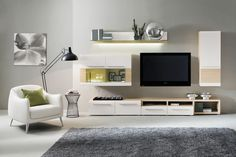 Lumio Wall Unit in Composition 5 by Mod Manhattan