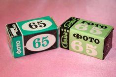 Упаковка для фотоплёнки 70-х - 80-х годов