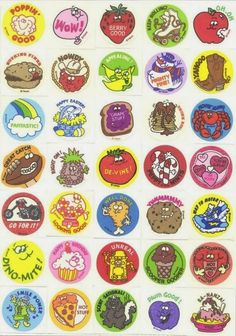 The joy of the first scratch on a brand-new Scratch 'n Sniff sticker