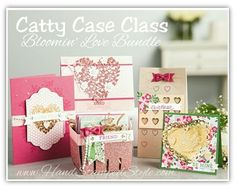 Bloomin' Love occasions catalog bundle for Catty Case Class from Hand Stamped Style