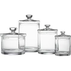 Heritage Hill Glass Jars With Lids In Food Containers Storage Enchanting Glass Kitchen Containers 2018