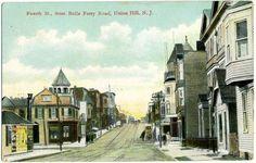 Fourth Street from Bulls Ferry Road ~UNION HILL / UNION CITY NJ~ 1910
