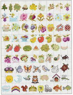 150 Mini Motifs.. cross stitch