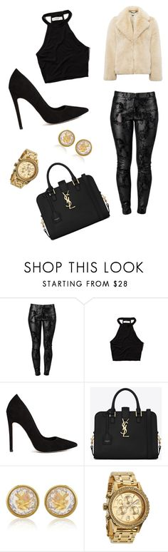 """""""?"""" by brianne-ezzard ❤ liked on Polyvore featuring J APOSTROPHE, Abercrombie & Fitch, ASOS, Yves Saint Laurent, Michael Kors, Nixon and Whistles"""