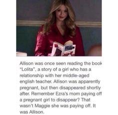 Pretty Little Liar theory