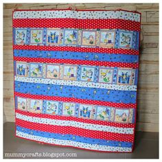 Beachy Baby Strip Quilt