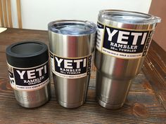 New Yeti 12 20 30 oz Rambler Stainless Steel Coffee Mug Cup Insulated Tumbler | Sporting Goods, Outdoor Sports, Camping & Hiking | eBay!