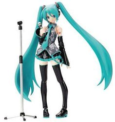 Used Figma Vocaloid Hatsune Miku PVC Action Figure Max Factory Japan Import #ebay