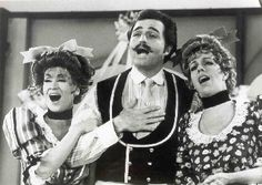 Chita and Vince Edwards with carol on her show in 1969