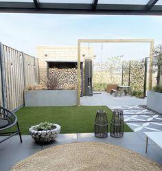 Small Backyard Gardens, Rooftop Garden, Back Gardens, Outdoor Gardens, Modern Landscaping, Backyard Landscaping, Back Garden Design, Contemporary Garden, Garden Styles
